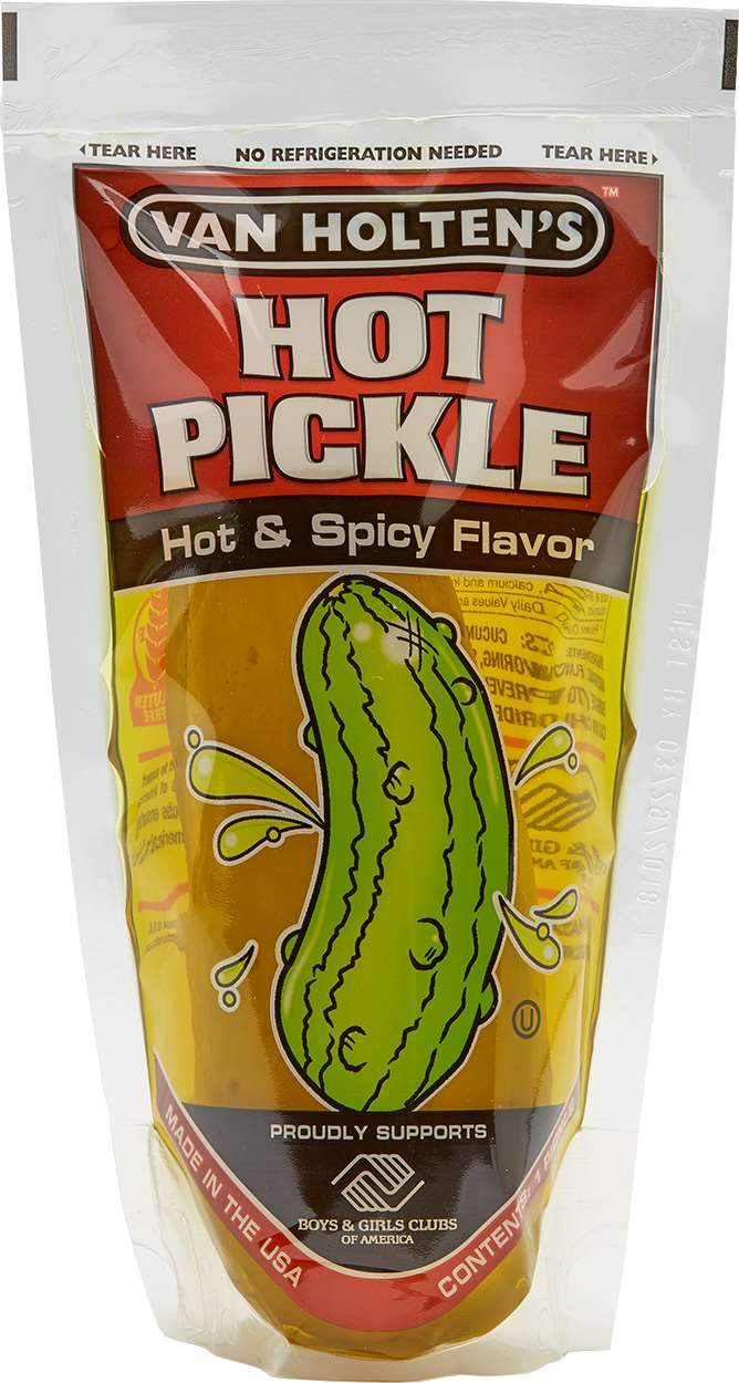 Van Holten's Pickle-In-A-Pouch Van Holten's Hot and Spicy Jumbo (about 5 Oz)