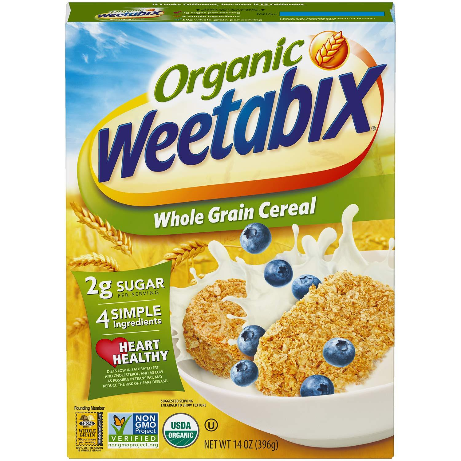 Weetabix Whole Grain Cereal Weetabix Organic 14 Ounce