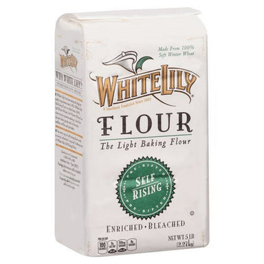 White Lily Self Rising Bleached Flour White Lily 5 Pound