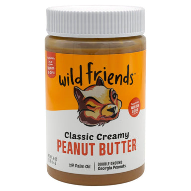 Wild Friends Peanut Butter Wild Friends Classic Creamy 16 Ounce