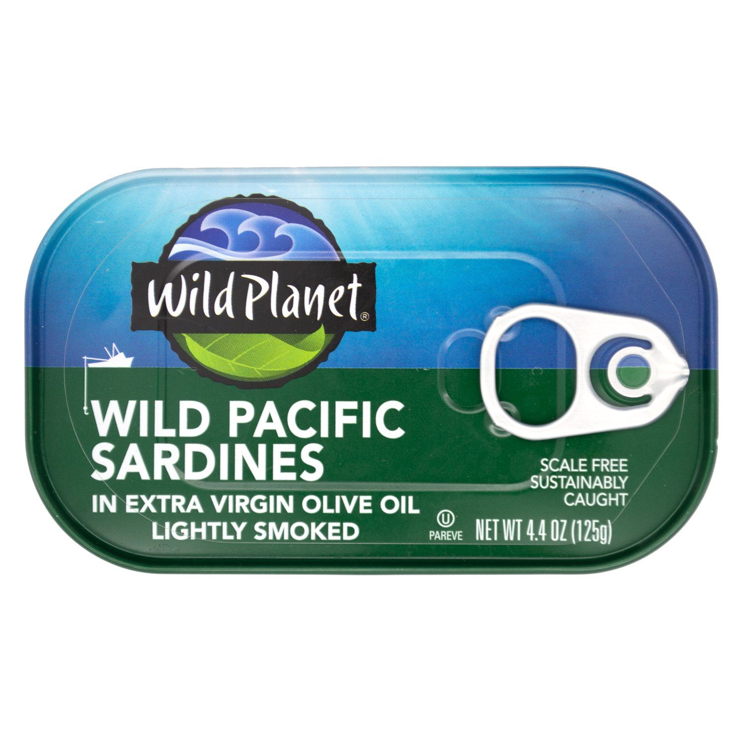 Wild Planet Wild Sardines Wild Planet In Extra Virgin Olive Oil 4.4 Ounce