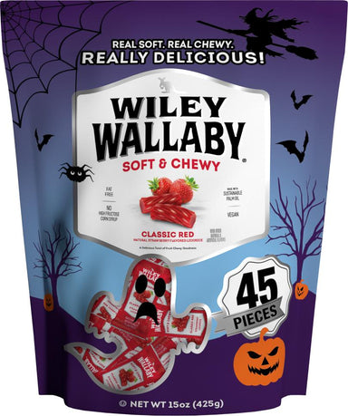 Wiley Wallaby Licorice Wiley Wallaby Halloween 0.352 Oz-45 Count