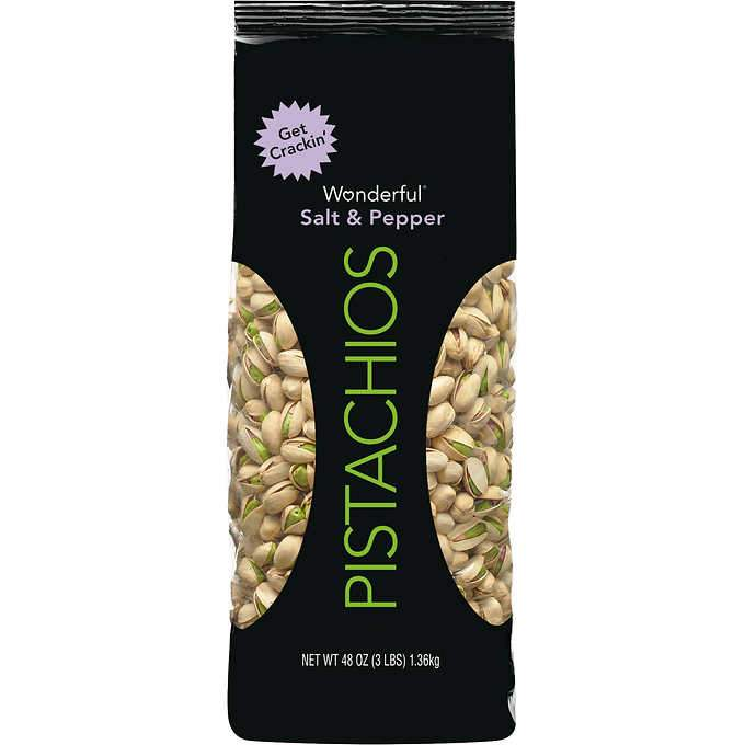Wonderful Pistachios Wonderful Pistachios & Almonds Salt & Pepper 48 Ounce