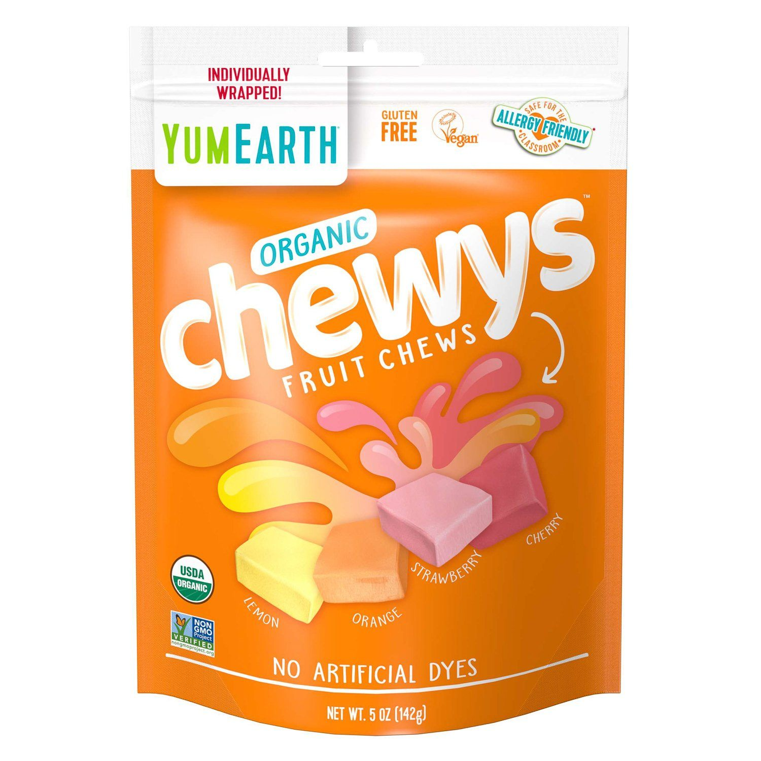 YumEarth Organic Chewy Candies YumEarth Organic Chewys 5 Ounce