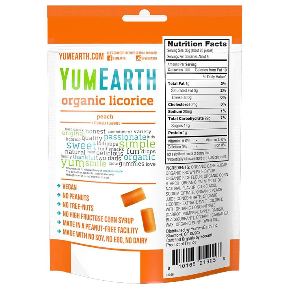 YumEarth Organic Gluten Free Licorice YumEarth