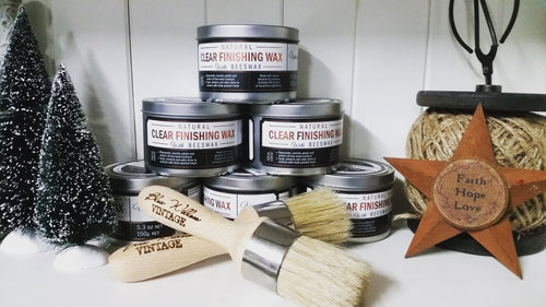 Websters Natural Clear Finishing Wax - Australian Lavender