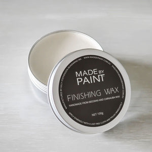 Made By Paint - FINISHING WAX WHITE