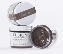 Load image into Gallery viewer, FUSION™ Mineral Paint Furniture Wax ESPRESSO