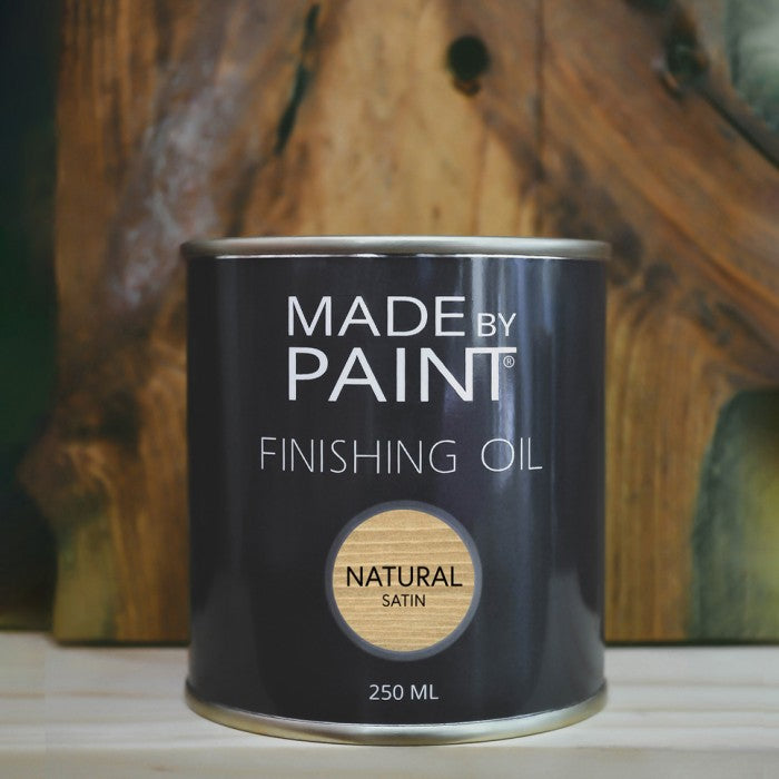 FINISHING OIL NATURAL SATIN