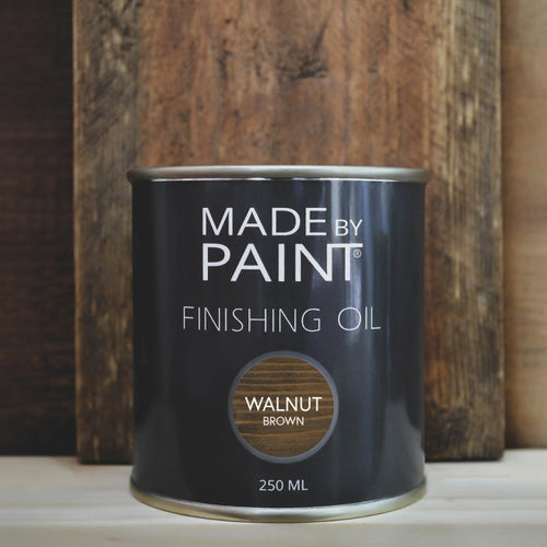 Made By Paint - FINISHING OIL WALNUT BROWN