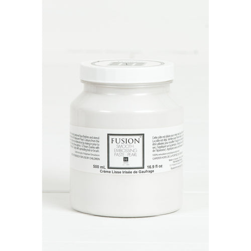 FUSION™ Mineral Paint - Smooth Embossing Paste - Pearl