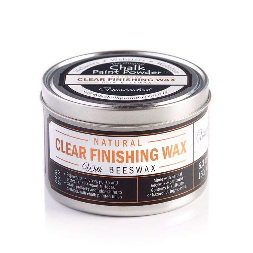 Websters Natural Clear Finishing Wax - Native Frangipani