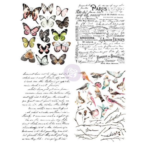 ReDesign Transfer - Parisian Butterflies