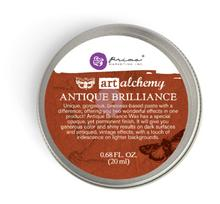 Prima Art Alchemy Metallique Wax - Red Amber