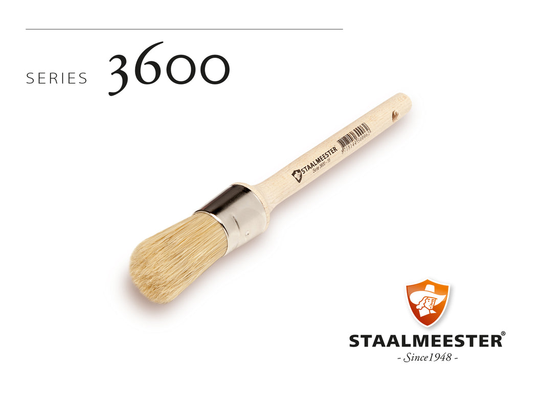 Staalmeester® Round Wax Brush