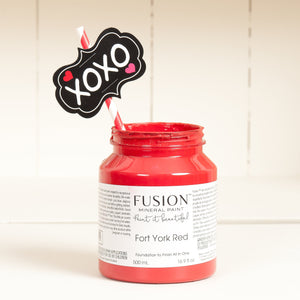 FUSION™ Mineral Paint - Fort York Red