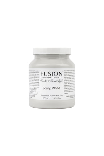 FUSION™ Mineral Paint - Lamp White