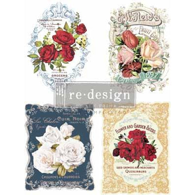 ReDesign Transfer - Wild Roses