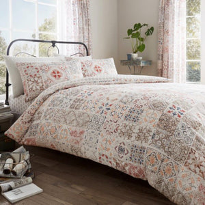 Anna Natural Duvet Cover Set