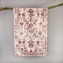 Load image into Gallery viewer, Midford Vintage Printed Purple Rug