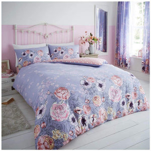 Cottage Lilac Duvet Cover Set