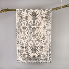 Load image into Gallery viewer, Kittisford Vintage Printed Grey Rug