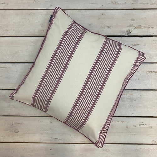 Cotton Ticking Cushion Complete