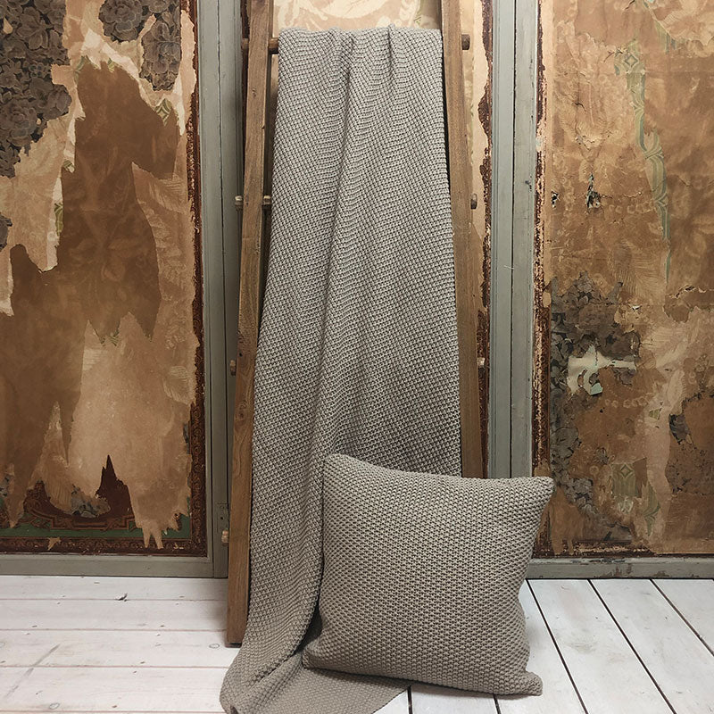 Khaki Throw