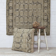 Load image into Gallery viewer, Henstridge Vintage Printed Green Rug