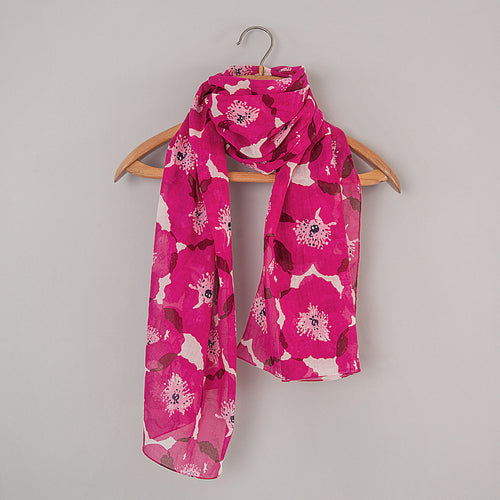 Safi Hot Pink Scarf