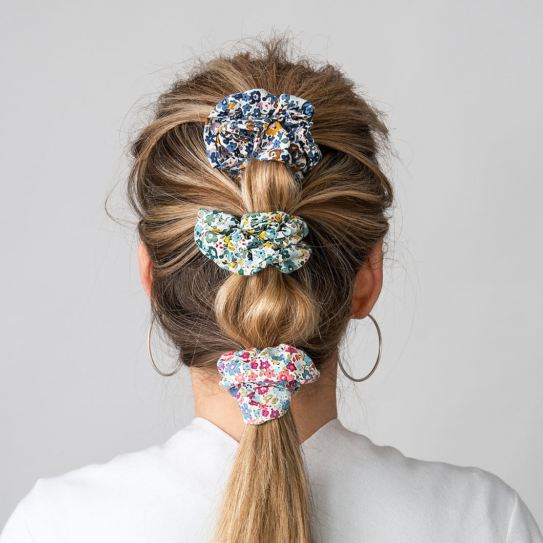 Hair Scrunchie Green