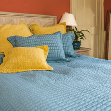 Load image into Gallery viewer, Bridport Teal Bedspread