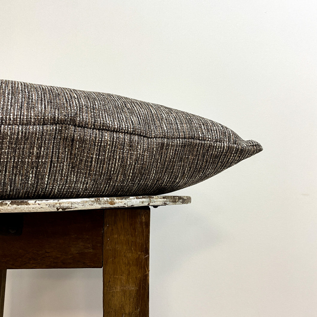 Brown Fleck Cushion Complete
