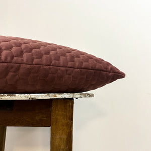 Cotton Velvet Honeycomb Cushion Complete
