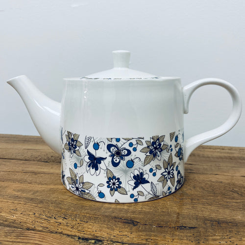 Jameson & Tailor Teapot - Beige / Blue