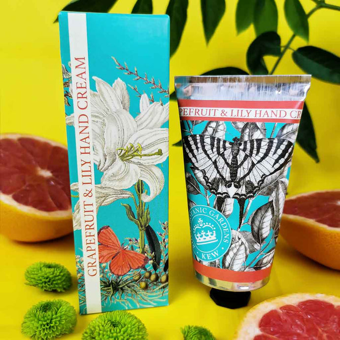 Kew Gardens Grapefruit and Lily Hand Cream