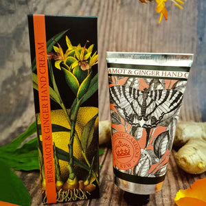 Kew Gardens Bergamot and Ginger Hand Cream