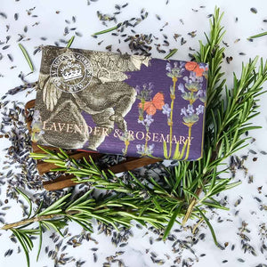 Kew Gardens Lavender and Rosemary Soap