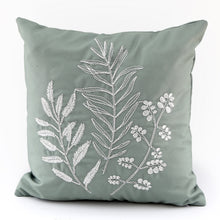 Load image into Gallery viewer, Olive Grove Embroidered Cushion