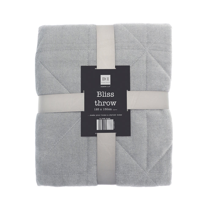 Bliss Throw Grey
