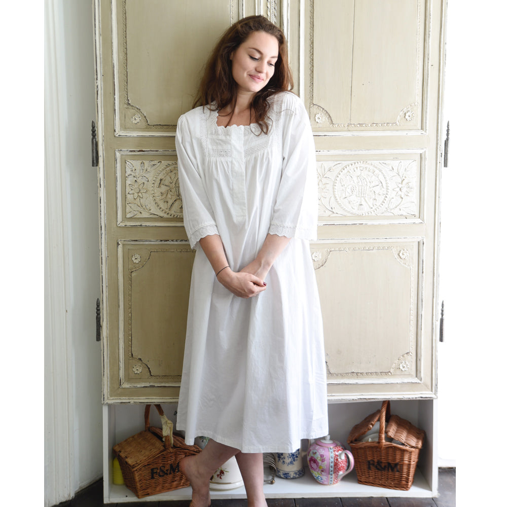 Eliza 3/4 Length Sleeve Ladies Nightdress