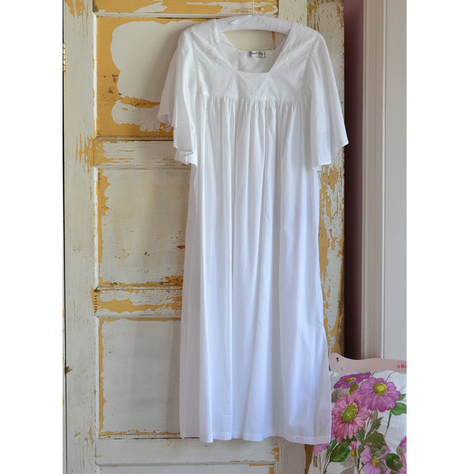 Valentina Square Neckline Ladies Nightdress