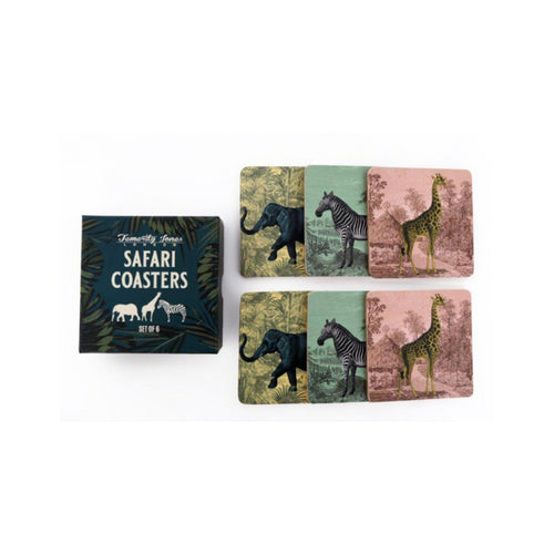 S/6 Safari Coasters
