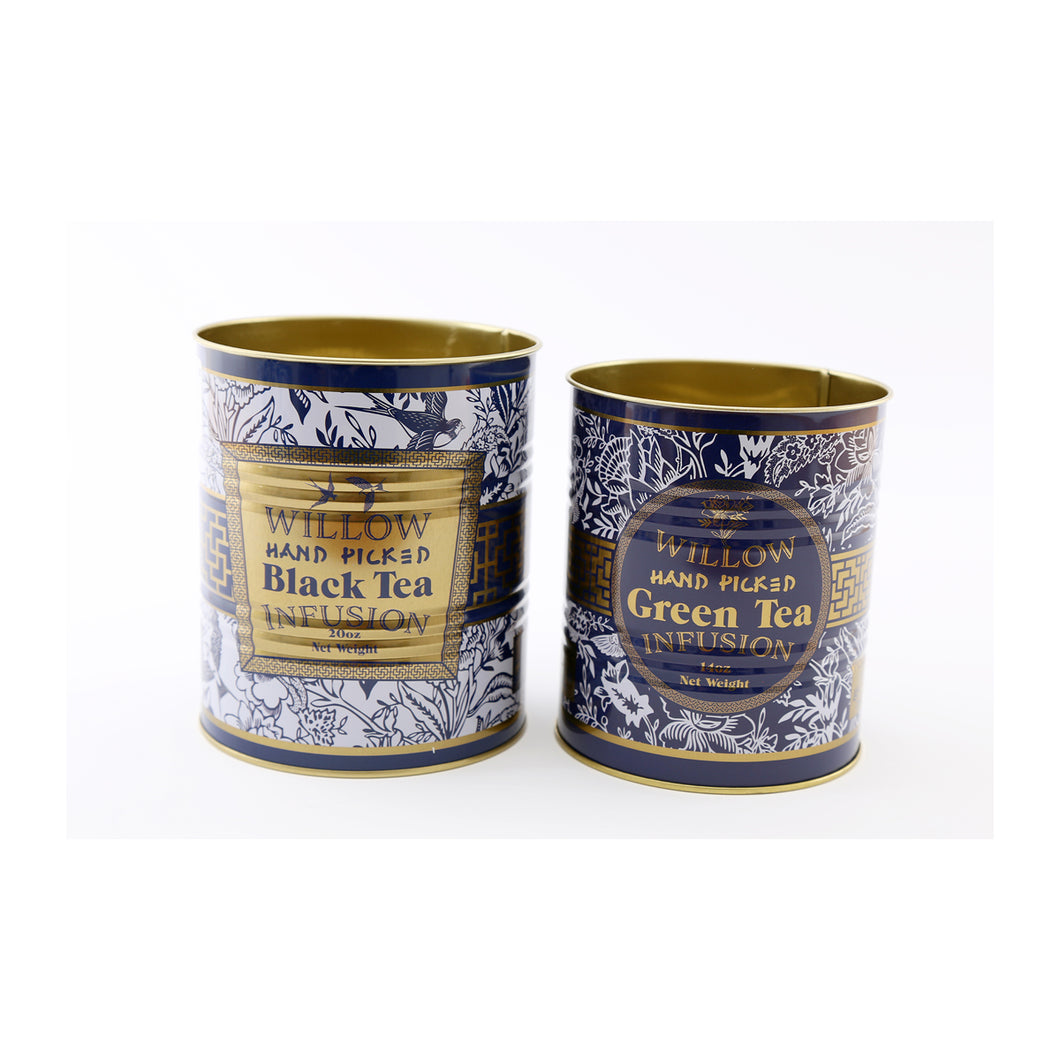 S/2 Willow Storage Tins