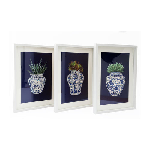 Set of 3 Willow Photo Frames
