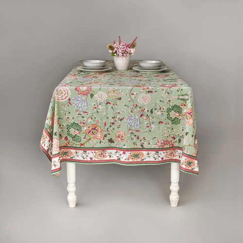 Anna Green Tablecloth Range