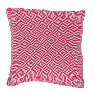 Diamond Cushion Complete Pink