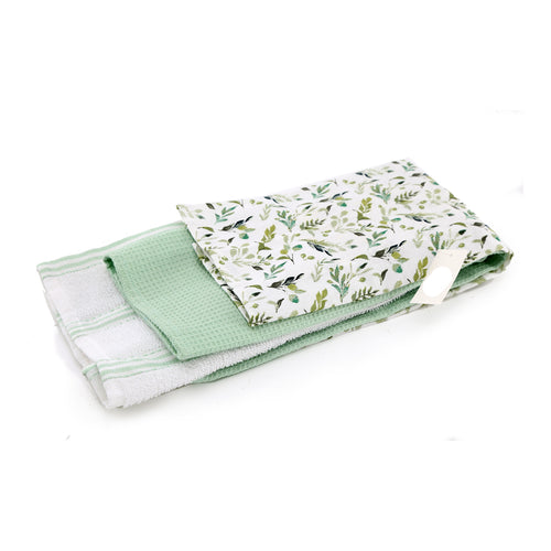 Pk3 Olive Grove Tea Towel