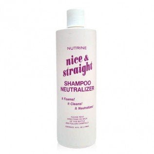 Nutrine Nice & Straight Neutralizing Shampoo 16oz