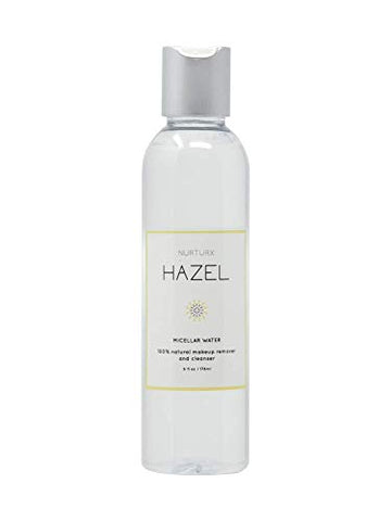 HAZEL - Micellar Water - 100% Natural Makeup Remover and Cleanser